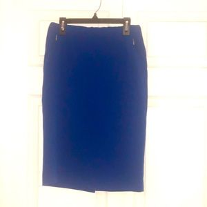 Electric Blue skirt